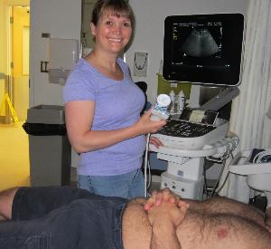Chris Kurz fundraiser, pics new portable ultrasound machine 003.jpg